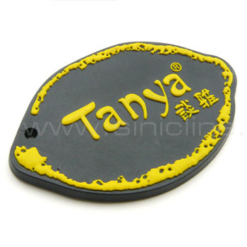 Rubber labels / silicone label(RL004)