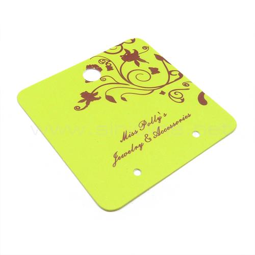 Earring card (JC014)