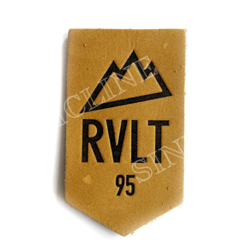 Leather labels/ Leather patches (LL038)