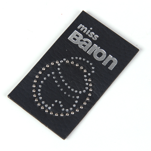 Leather labels/ Leather patches (LL041)