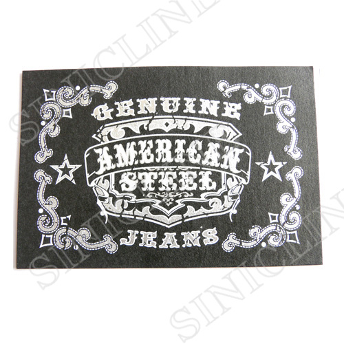 Leather labels/ Leather patches (LL046)