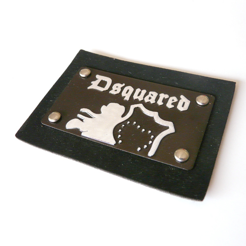 Leather labels/ Leather patches (LL049)