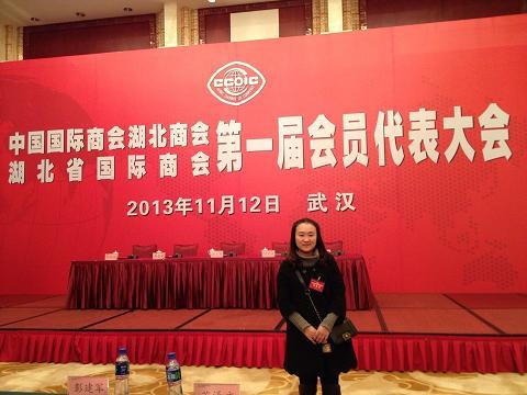 中国国际商会湖北商会第一届会员代表大会