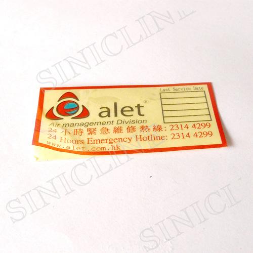 Sticker labels(SL175)