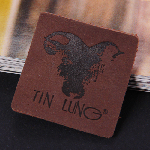 Leather labels/ Leather patches (LL052)
