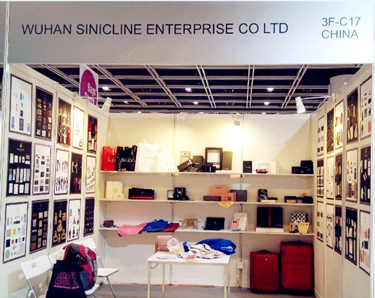 Sinicline Attended Asia Pacific Leather Fair 2015
