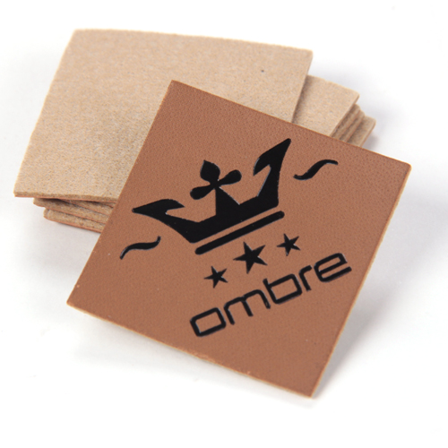 Leather labels/ Leather patches (LL053)