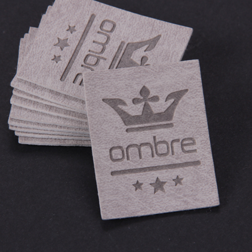 Leather labels/ Leather patches (LL054)