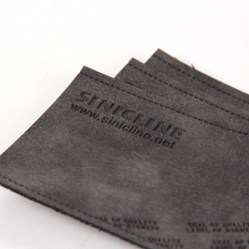 Leather labels/ Leather patches (LL058)
