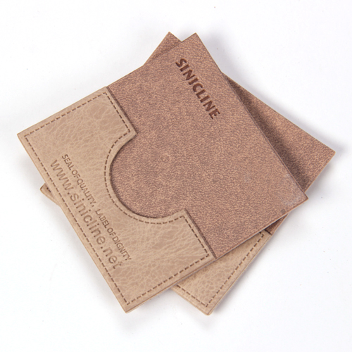 Leather labels/ Leather patches (LL059)