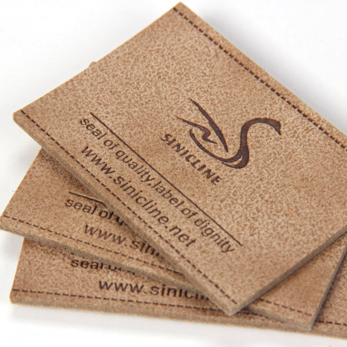 Leather labels/ Leather patches (LL060)