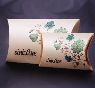 Sinicline Fashion Paper Pillow Box for Scarf BX140