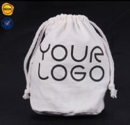 Sinicline Custom Cotton Drawstring Bag