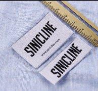 Sinicline New Arrival Woven Label WL304