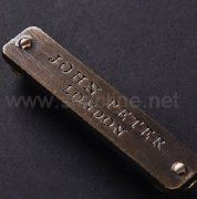 Sinicline Metal Garment Tags ML243