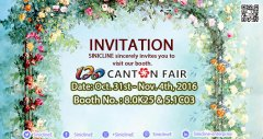 Sinicline invites you to the 120th Canton Fair