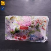 Sinicline pvc cosmetic ziplock bag WLPB-HQ-001