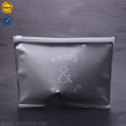 Silver plastic ziplock bag RCPB-AS6-02