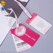 Sinicline swimwear hang tag HT340