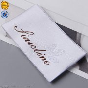 Sinicline end fold wedding dress label WL316