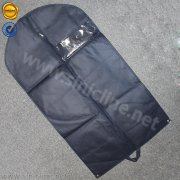 Sinicline navy blue suit case with PVC window WLGB-004