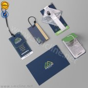 Sinicline paper tags for outdoor wear HT342