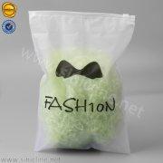 Sinicline soft EVA garment ziplock bag LMPB-HQD-028