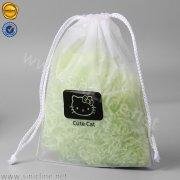 Sinicline frosted drawstring garment bag LMPB-HQD-029