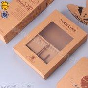 Sinicline kraft paper belt packaging box BX151
