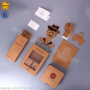 Sinicline kraft man accessory packaging set BX190