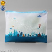 Sinicline colorful PVC zip travel bag LMPB-HQD-033