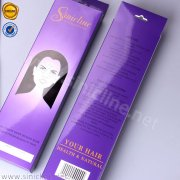 Sinicline hair packaging box with hole BX158