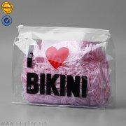 Clear PVC bikini ziplock packaging bag ZLB-01