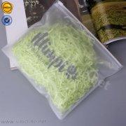 Plastic frosted ziplock swimwear bag DSPB-C08-005XS-M2
