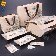 Sinicline lotus flower printed packaging set BX163