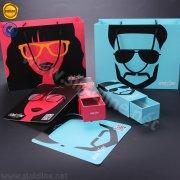 Sinicline eyeglasses packaging and display set BX166