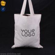 Sinicline custom logo fabric shopping bag SB155
