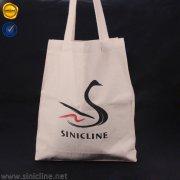 Sinicline custom logo canvas shopping bag SB156