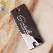 Sinicline custom logo metal tag ML244