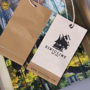 Sinicline kraft canvas hang tags HT347