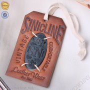 Sinicline vintage leather hang tags HT350