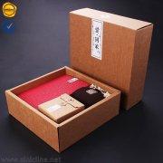 Custom kraft paper gift box BX178