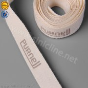Custom logo cotton ribbon PL121
