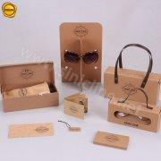 Sinicline kraft paper eyeglasses packages and displays BX204