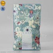 Floral reclosable plastic bag SNPX-CGZY-020