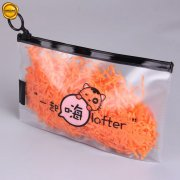 Frosted plastic zipper lock bags SNPB-YF02-007
