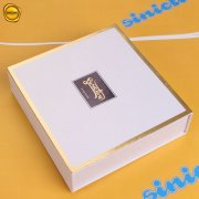 Sinicline foil stamped logo rigid box BX213