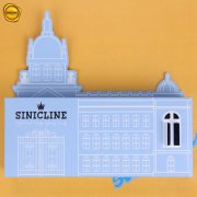 Sinicline custom shape carton box B215