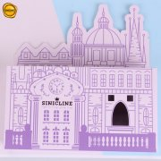Sinicline die cut paper box BX216