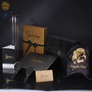 Sinicline luxury hair extension packaging set BX228